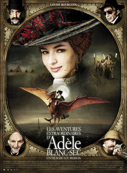 The Extraordinary Adventures of Adèle Blanc-Sec - 2010 1080p Mkv DTS - WiKi