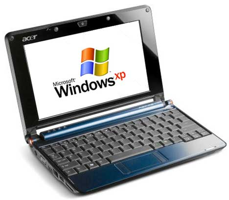 Windows XP SP3 Lite Netbook Edition (160Mb Only)